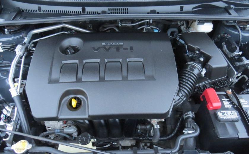 2014 Toyota Corolla S AUT A/C CUIR MAGS CAMERA TOIT GR ELECTRIQUE #29