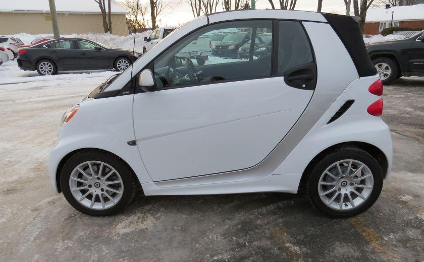 2013 Smart Fortwo Passion Cabriolet AUT A/C MAGS GR ELECTRIQUE #3