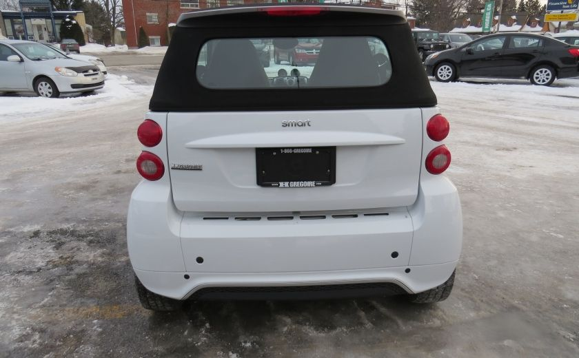 2013 Smart Fortwo Passion Cabriolet AUT A/C MAGS GR ELECTRIQUE #5