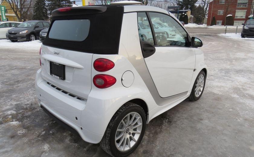 2013 Smart Fortwo Passion Cabriolet AUT A/C MAGS GR ELECTRIQUE #6