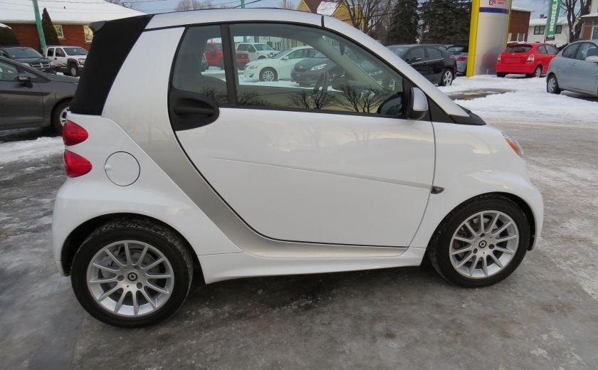 2013 Smart Fortwo Passion Cabriolet AUT A/C MAGS GR ELECTRIQUE #7