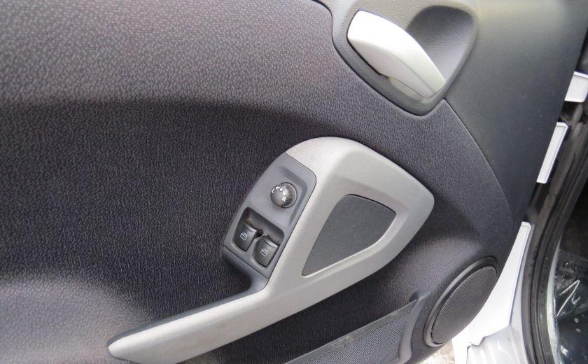 2013 Smart Fortwo Passion Cabriolet AUT A/C MAGS GR ELECTRIQUE #12