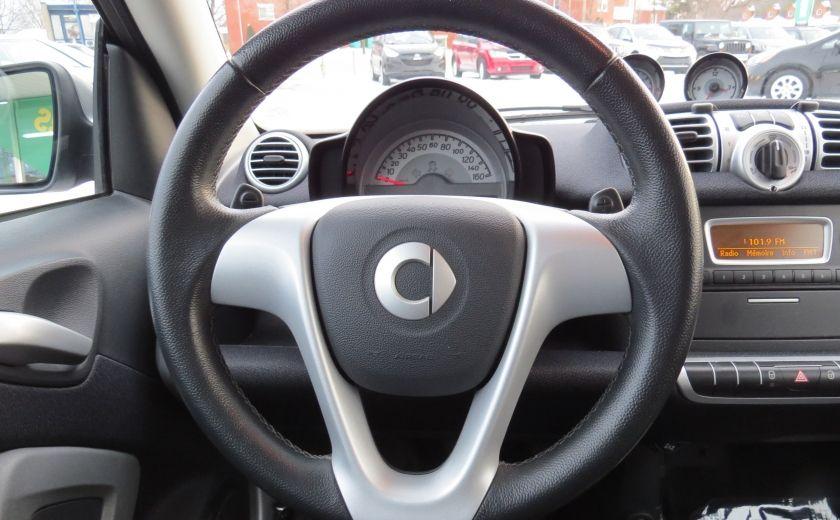 2013 Smart Fortwo Passion Cabriolet AUT A/C MAGS GR ELECTRIQUE #14