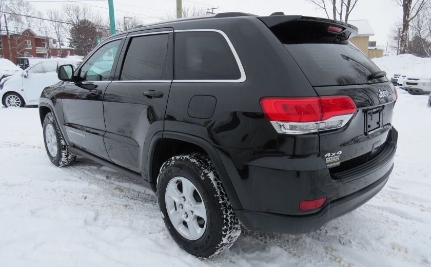 2015 Jeep Grand Cherokee Laredo AUT 4X4 A/C MAGS BLUETOOTH GR ELECTRIQUES #4