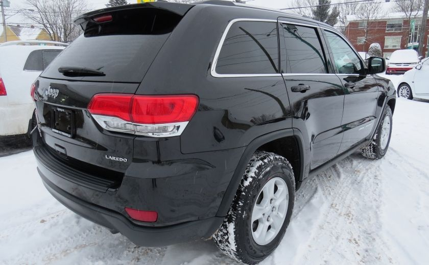 2015 Jeep Grand Cherokee Laredo AUT 4X4 A/C MAGS BLUETOOTH GR ELECTRIQUES #6