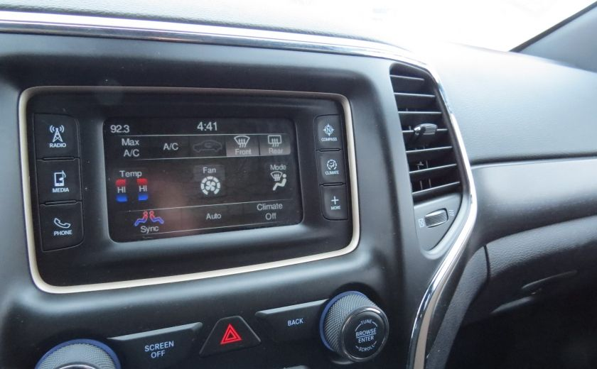 2015 Jeep Grand Cherokee Laredo AUT 4X4 A/C MAGS BLUETOOTH GR ELECTRIQUES #21