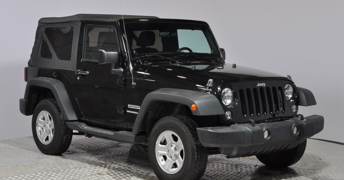 2014 jeep wrangler usag e et d occasion vendre chez hgregoire. Black Bedroom Furniture Sets. Home Design Ideas