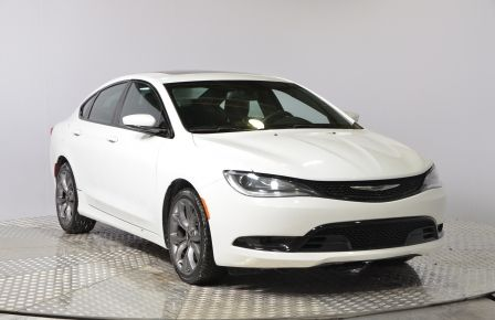 2015 Chrysler 200 S BLUETOOTH A/C CRUISE ABS SAT #0
