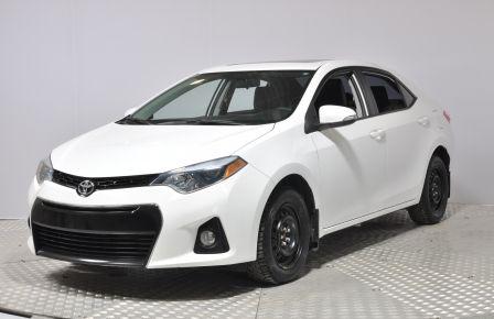 2014 Toyota Corolla S BLUETOOTH  A/C TOIT CAM SIEGE AV CHAUFFANT MODE #0