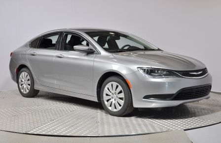 2016 Chrysler 200 LX BLUETOOTH A/C CRUISE #0