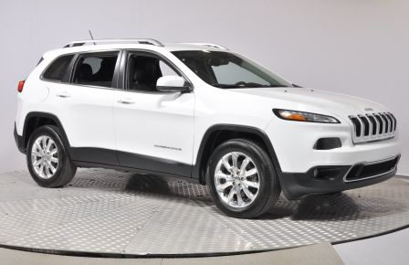 2015 Jeep Cherokee Limited AC CRUISE BLUETOOTH CAM DE RECUL  SIEGES V #0