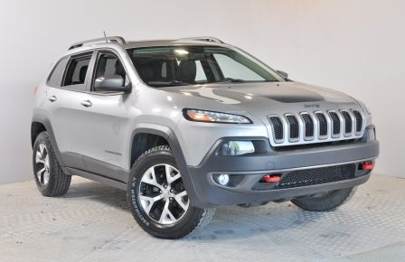 2014 Jeep Cherokee Trailhawk 4X4 GPS Panoramique Cuir Bluetooth #0
