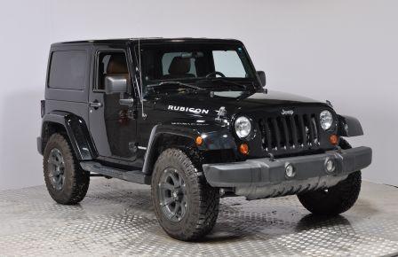 2012 Jeep Wrangler RUBICON 4X4 CUIR A/C CRUISE ABS #0