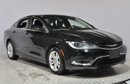 2016 Chrysler 200 LIMITED BLUETOOTH A/C CRUISE SIEGES AV CHAUFFANT #0