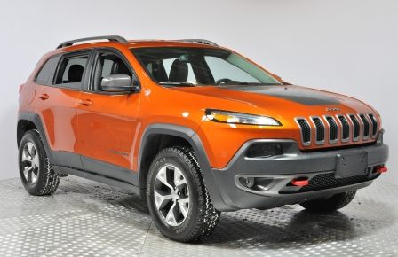2016 Jeep Cherokee TRAILHAWK 4WD AUTO AC GR ELECT NAVIGATION MAGS BLU #0