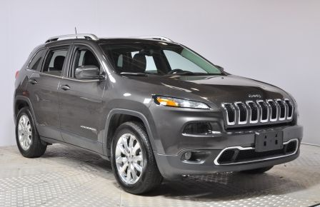 2016 Jeep Cherokee Limited 4WD NAV CUIR TOIT MAGS #0