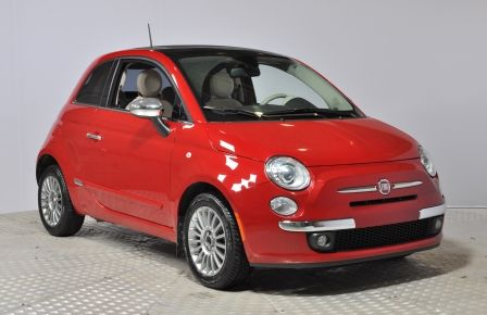 2012 Fiat 500 LOUNGE A/C CUIR TOIT BLUETOOTH #0