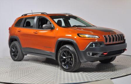2016 Jeep Cherokee Trailhawk GPS Cuir-Ventilé Pano Bluetooth Hitch #0