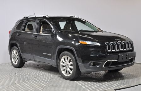 2015 Jeep Cherokee LTD 4X4 GPS Panoramique Cuir Bluetooth Demarreur #0