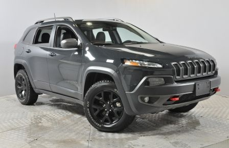 2017 Jeep Cherokee Trailhawk 4X4 GPS Cuir Bluetooth Demarreur Camera/ #0