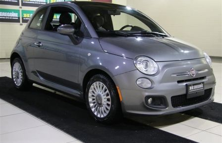 2012 Fiat 500 LOUNGE CUIR TOIT MAGS #0