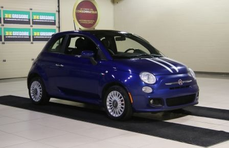 2012 Fiat 500 Sport A/C MAGS TOIT #0
