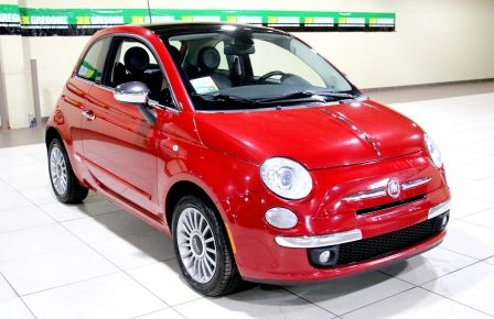 2012 Fiat 500 Lounge A/C CUIR TOIT MAGS #0