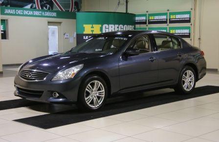 2012 Infiniti G25 x AWD AUTO A/C TOIT MAGS BLUETOOTH #0
