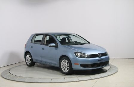 2010 Volkswagen Golf AUTO A/C GR ELECT MAGS #0