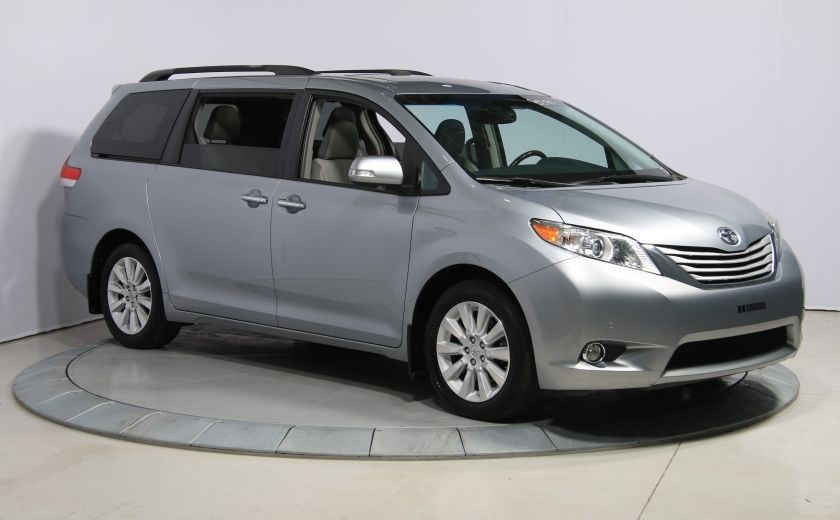 2013 Toyota Sienna LIMITED AWD CUIR TOIT NAV DVD MAGS #0