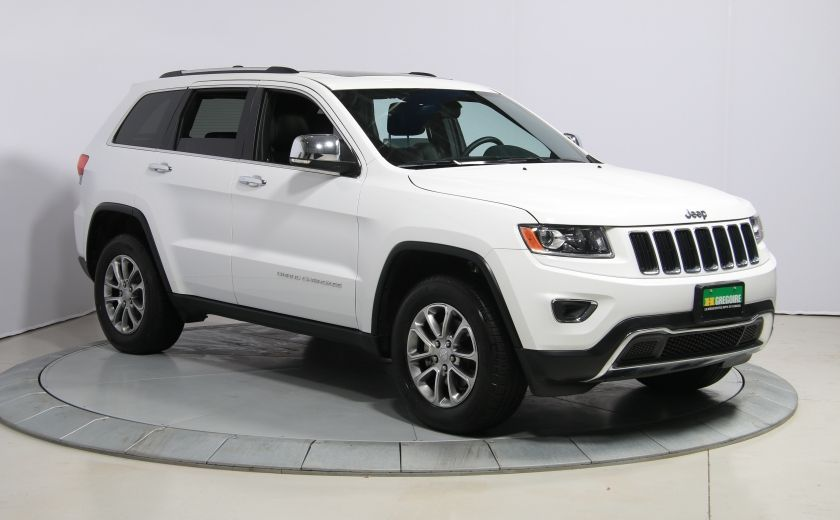 2016 Jeep Grand Cherokee Limited 4WD AUTO CUIR TOIT MAGS BLUETOOTH #0