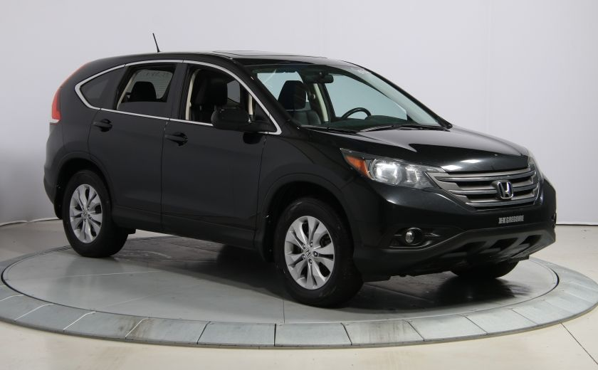 2014 Honda CRV EX-L AWD CUIR TOIT MAGS BLUETOOTH #0