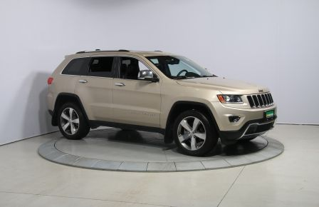 2015 Jeep Grand Cherokee Limited 4WD CUIR TOIT NAVIGATION MAGS HAYON ÉLECTR #0