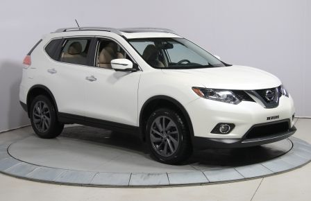 2016 Nissan Rogue SL A/C MAGS CUIR TOIT BLUETOOTH CAMERA RECUL GR EL #0