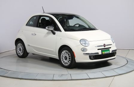 2014 Fiat 500 Lounge A/C CUIR TOIT MAGS #0