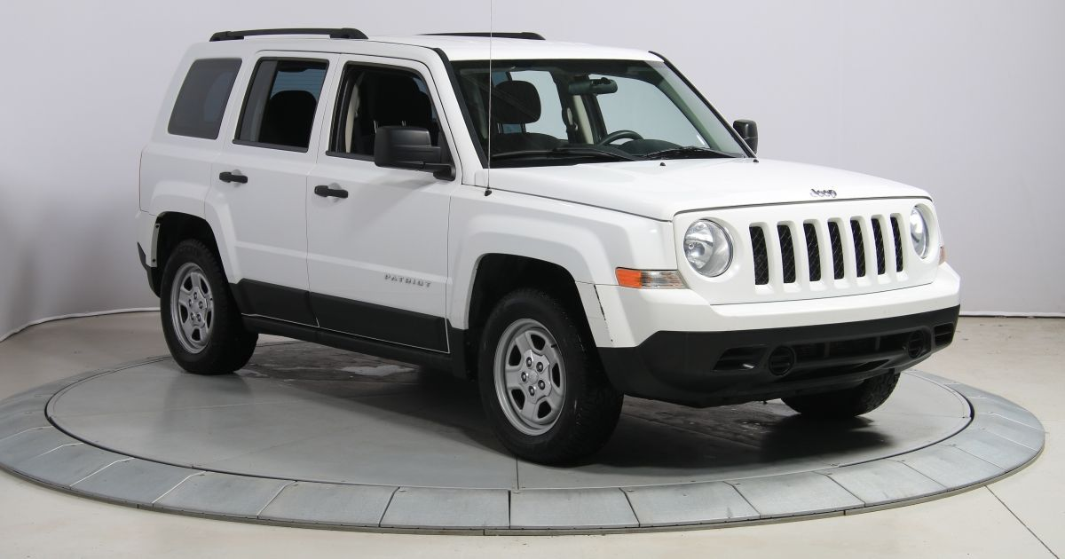 2011 jeep patriot usag e et d occasion vendre chez hgregoire. Black Bedroom Furniture Sets. Home Design Ideas
