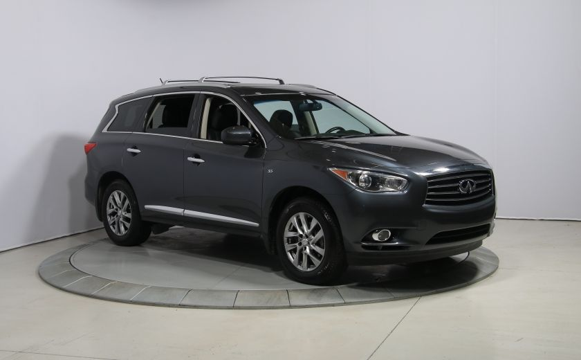 2014 Infiniti QX60 AWD AUTO A/C CUIR TOIT MAGS 7 PASS #0