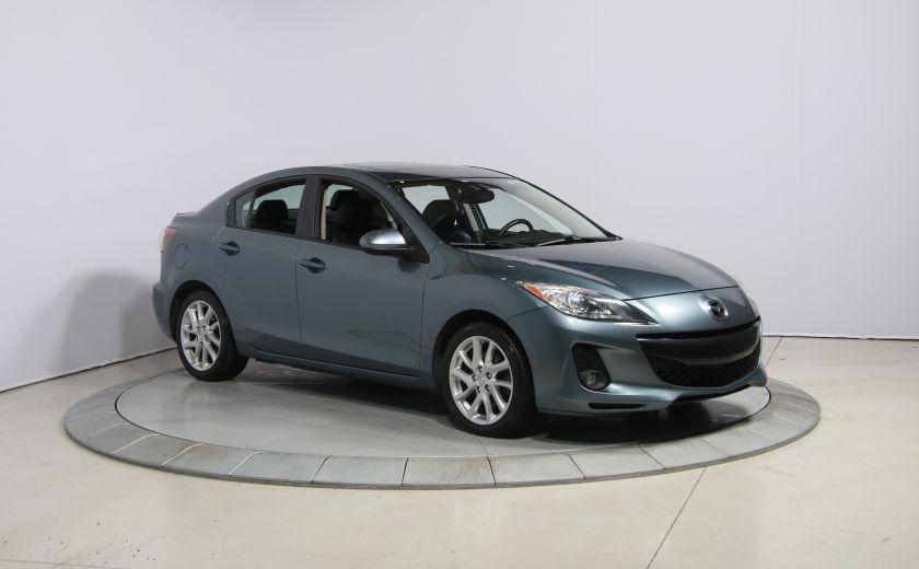 2012 Mazda 3 GT A/C CUIR TOIT MAGS BLUETOOTH #0