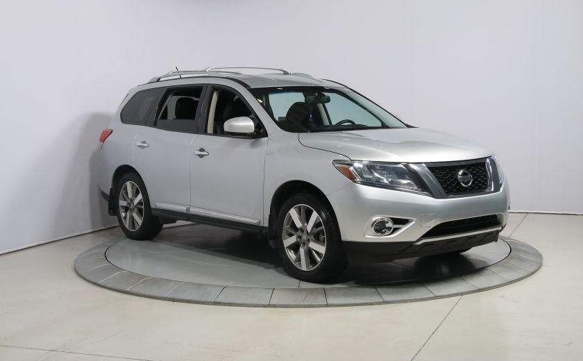 2014 Nissan Pathfinder PLATINUM 4WD CUIR NAVIGATION CAMERA 360 #0