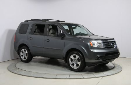 2013 Honda Pilot LX 4WD AUTO A/C GR ELECT MAGS 8PASSAGERS #0