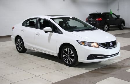 2015 Honda Civic EX A/C TOIT MAGS BLUETOOTH  CAMERA RECUL #0