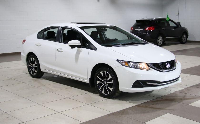 2015 Honda Civic EX A/C TOIT MAGS BLUETOOTH  CAMERA RECUL #0