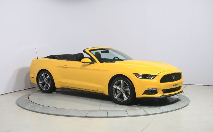 2016 Ford Mustang CONVERTIBLE V6 AUTO A/C GR ELECT MAGS BLUETHOOT #0