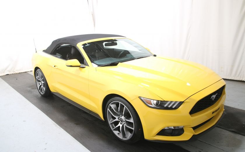 2016 Ford Mustang EcoBoost Premium CUIR #0