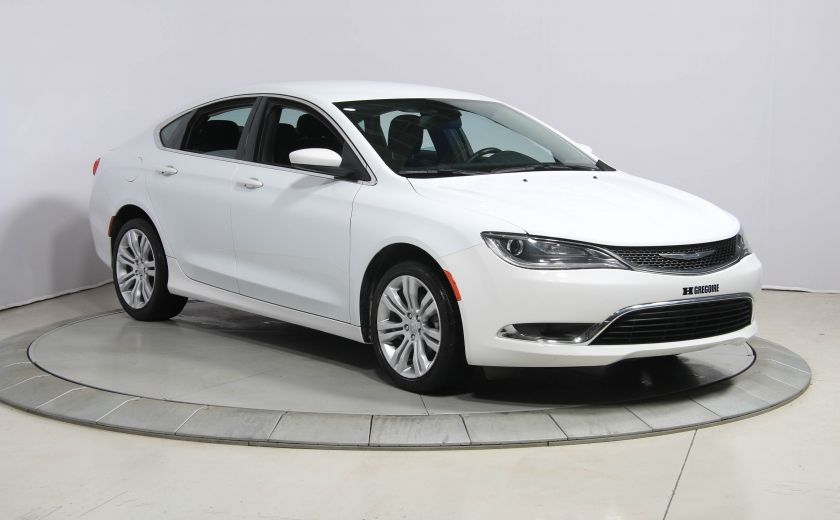 2015 Chrysler 200 Limited AUTO A/C GR ELECT MAGS CAM.RECUL BLUETOOTH #0