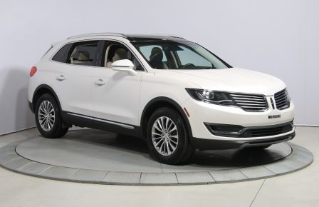2016 Lincoln MKX AWD CUIR NAV TOIT PANO MAGS #0