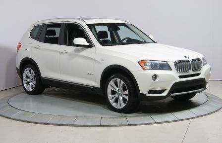 2014 BMW X3 xDrive35i AWD CUIR TOIT NAVIGATION MAGS BLUETOOTH #0