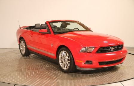 2012 Ford Mustang V6 Premium CUIR CONVERTIBLE MAGS #0