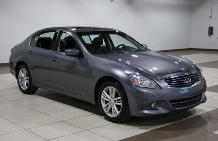 2012 Infiniti G37 X LUXURY AWD CUIR TOIT CAMERA RECUL #0