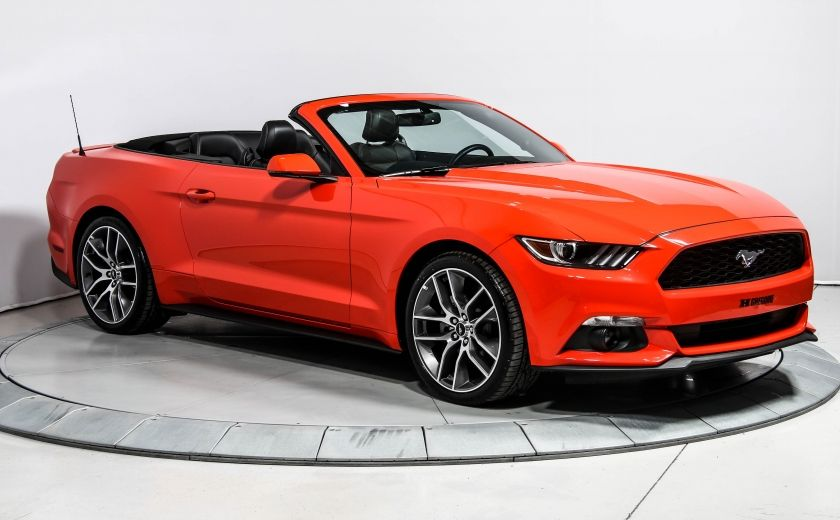 2016 Ford Mustang EcoBoost Premium AUTO CUIR CONVERTIBLE NAVIGATION #0